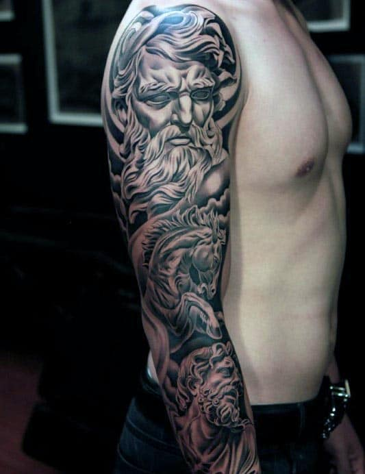Men's Full Sleeve 3D Tattoos