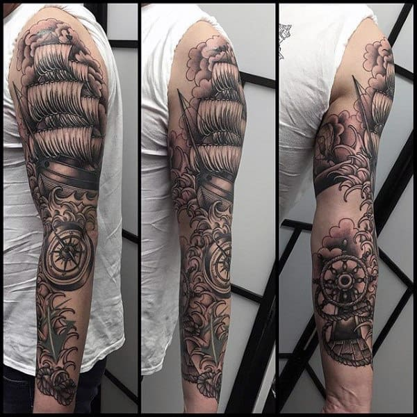 80 sick tattoos for men masculine ink design ideas ForSick Tattoo Sleeves