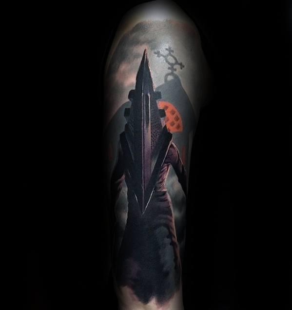 Mens Gamer Tattoo Forearm Design Inspiration