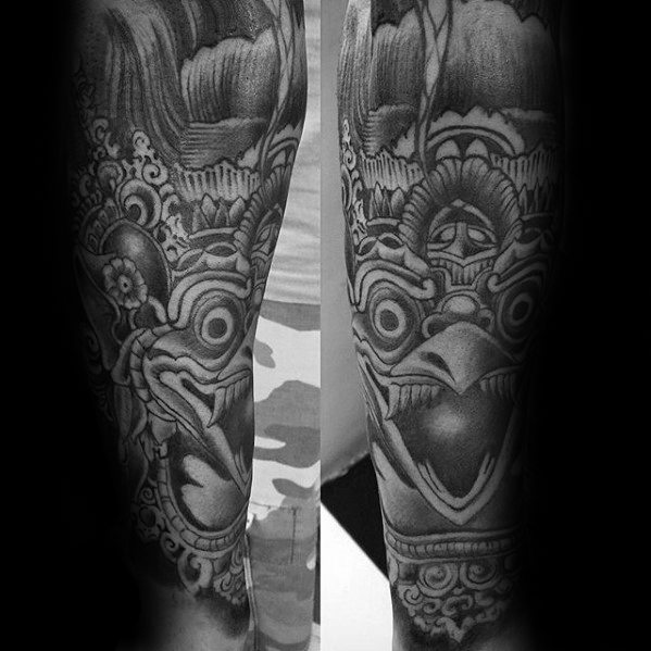 Mens Garuda Tattoo Ideas