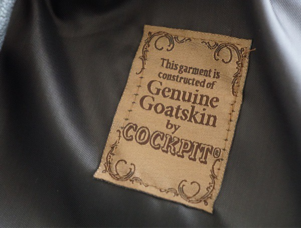 Mens Genuine Goatskin Leather Cockpit Usa G 1 Flight Jacket
