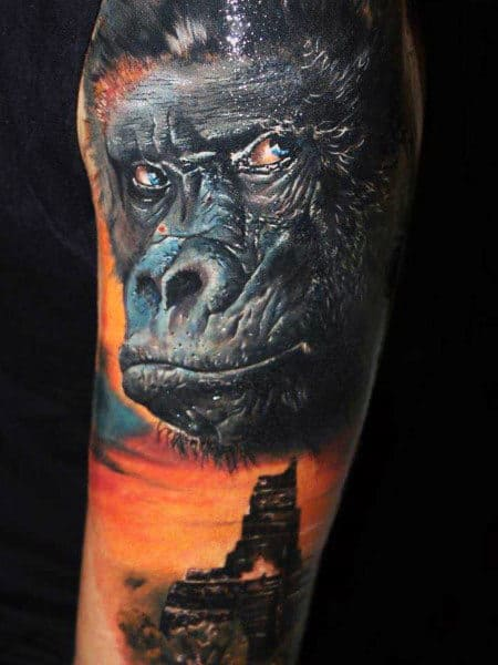 Mens Gorilla Biscuits Tattoo