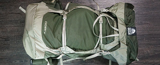 Men's Granite Gear Crown2 60 Pack Review Fatigue Dried Sage – Ultralight Backpacking