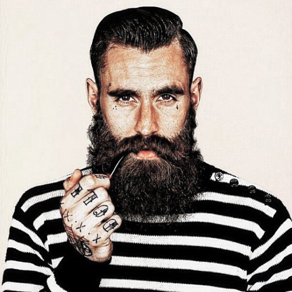 Mens Great Beard Dapper Style Ideas