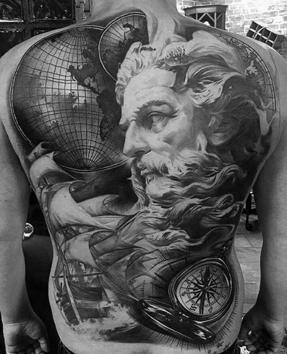 Mens Greatest Tattoo Design Ideas On Back
