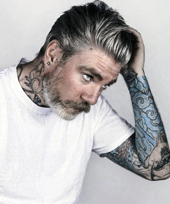 Mens Grey Beard Styles