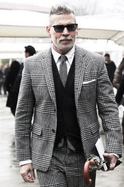 Mens Grey Suit Outfit Style Ideas