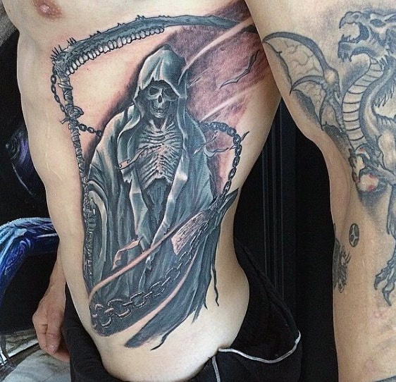 70 Grim Reaper Tattoos For Men