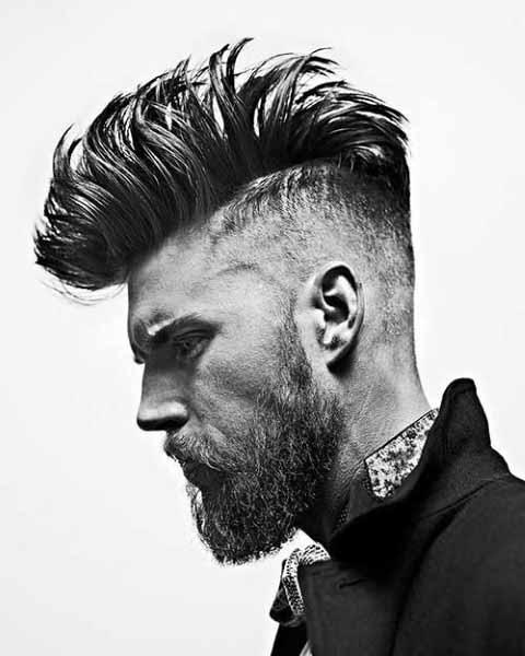 Mens Hair Mohawk Style Trendy