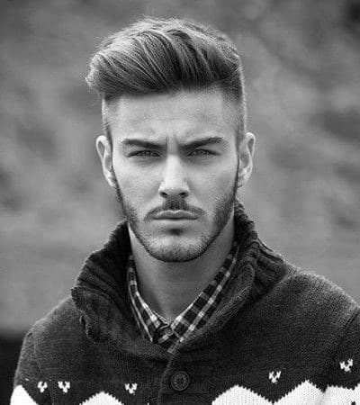 Men's Haircuts Shaved Sides Long Top