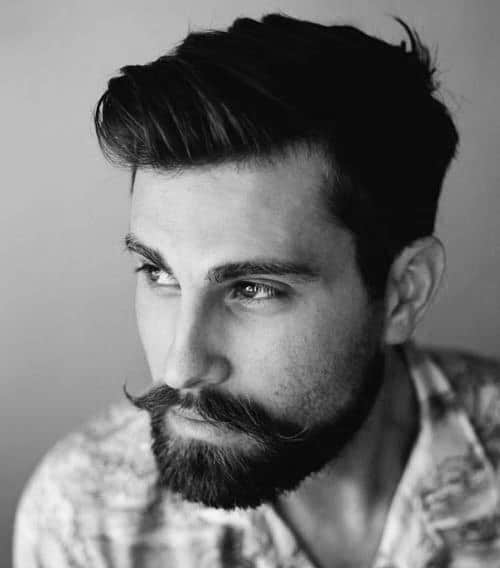 Men's Haircuts That Go With Beards