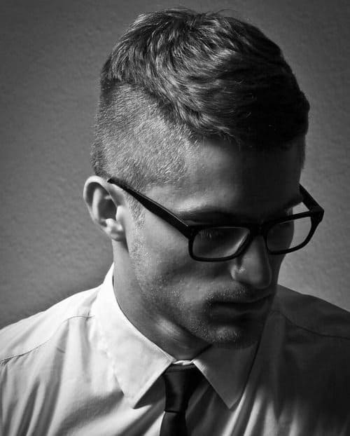 Men's Haircuts With Shaved Sides