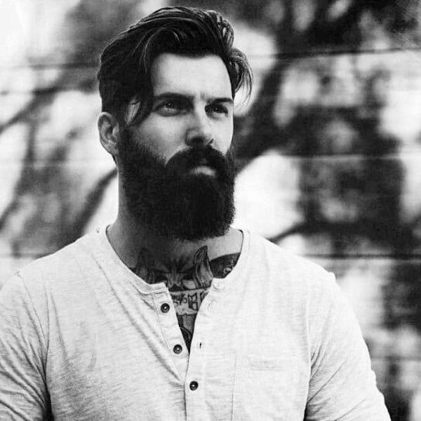 Mens Hairstyles For Medium Length Hair With Beard