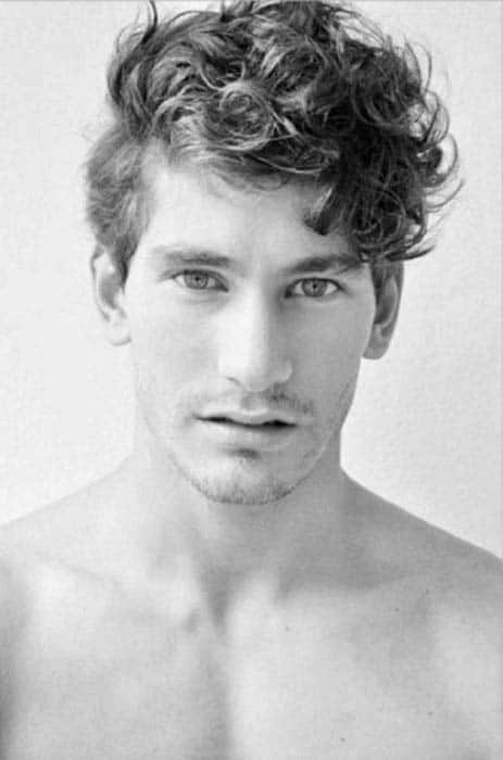 Admirable 50 Long Curly Hairstyles For Men Manly Tangled Up Cuts Hairstyles For Women Draintrainus
