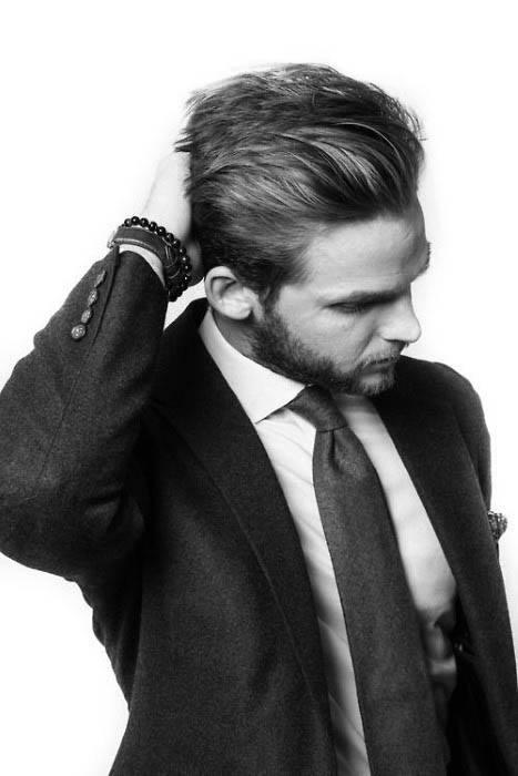 Mens Hairstyles Medium Long