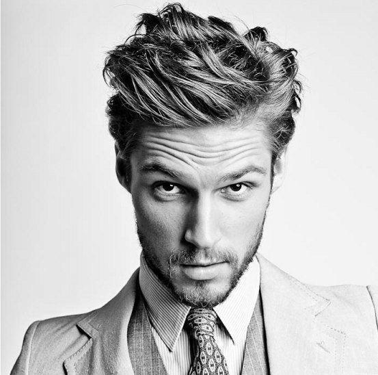 Men's Hairstyles Wavy Hair