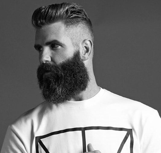 Men's Hairstyles With Side Shaved