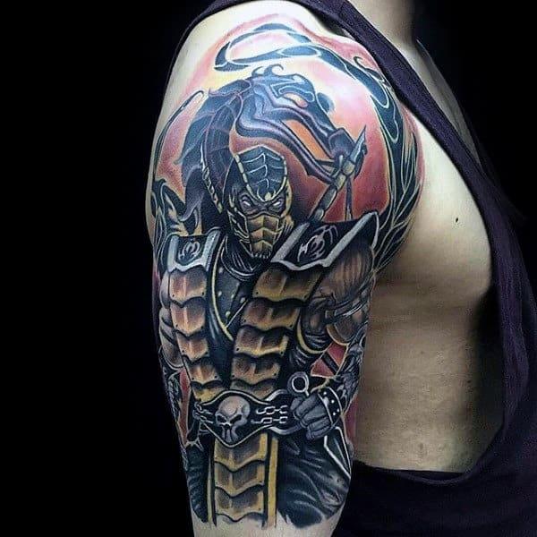 Mortal Kombat Dragon Tattoo Best Tattoo Ideas