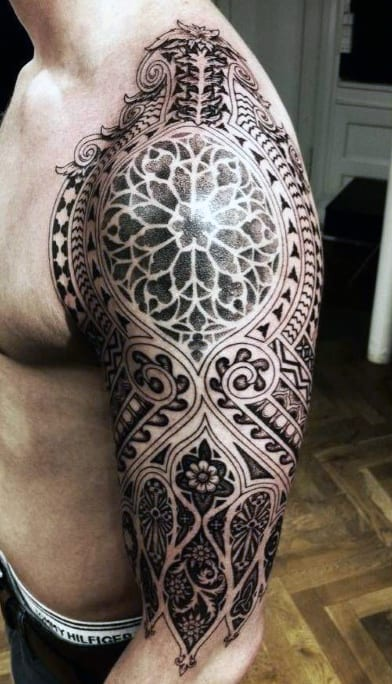 Men's Half Sleeve Tattoo Designs