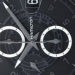 Hamilton Rail Road Chronograph Dial Watch