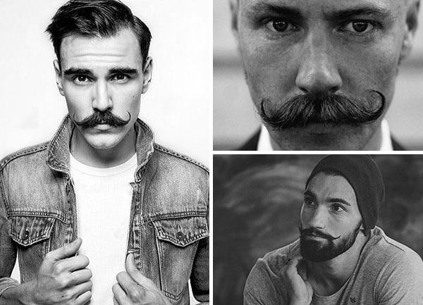 Mens Handlebar Mustache Style