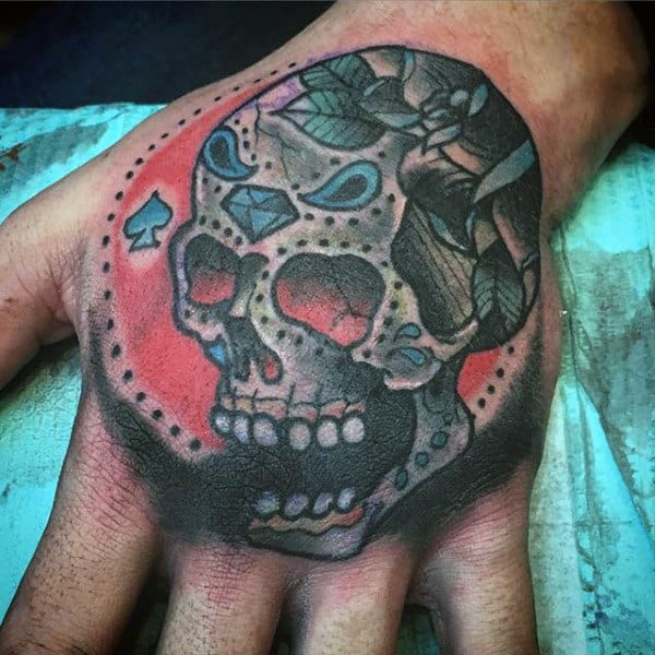 Top 67 Day Of The Dead Tattoo Ideas [2020 Inspiration Guide]