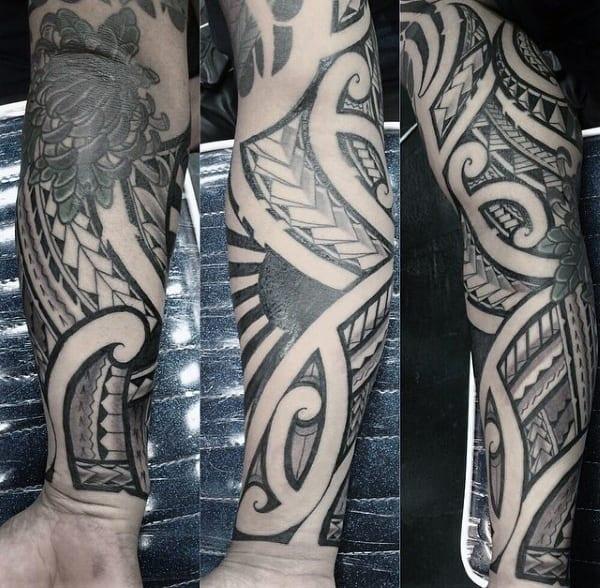 Men's Hawaiian Island Tattoos