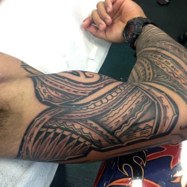 Men's Hawaiian Tattoo Meanings