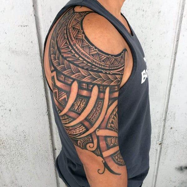 Men's Hawaiian Tattoo