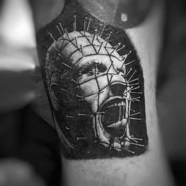 Mens Hellraiser Tattoo Designs