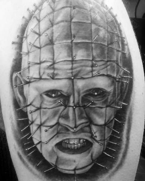 Mens Hellraiser Tattoo Ideas