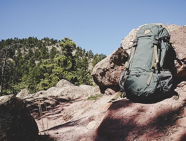 Mens Hiking Forest Green Fjallraven Kajka 75 Liter Backpack Review