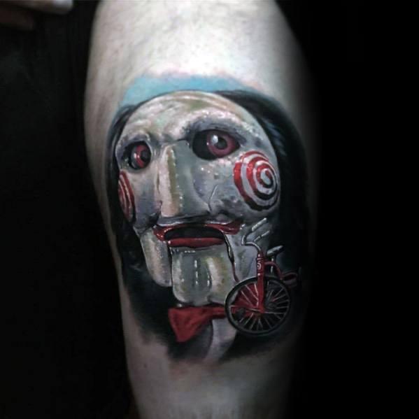 Mens Horror Movie Tattoo Designs