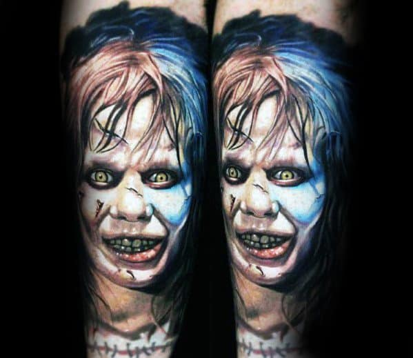 Mens Horror Movie Tattoo Ideas