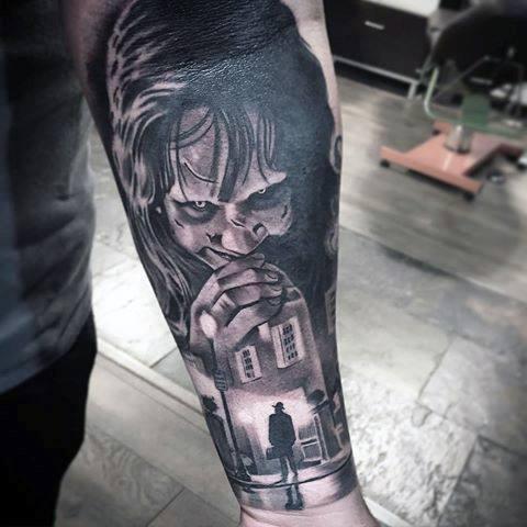 Mens Horror Movie Tattoos