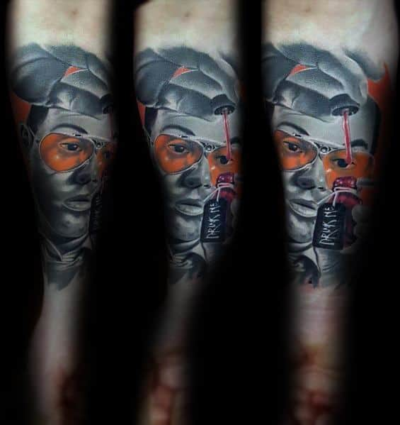Mens Hunter S Thompson Tattoo Ideas
