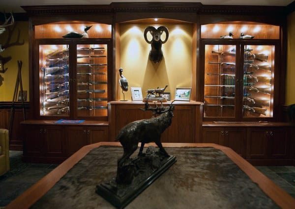 Mens Hunting Gun Room Ideas