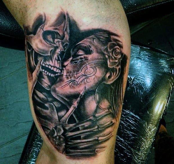 Men's Inner Bicep Tattoos Ideas