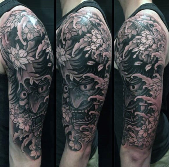 Men's Japanese Dragon Tattoo