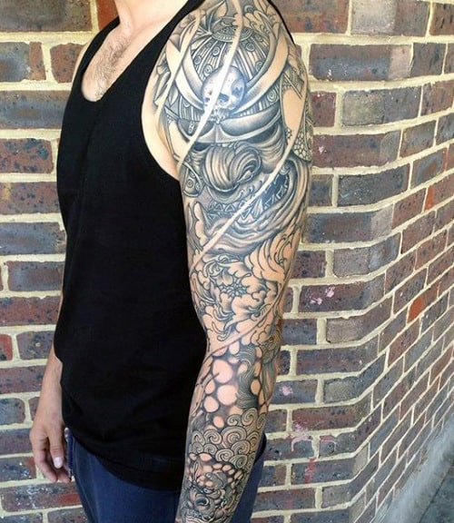 Men's Japanese Dragon Tattoos