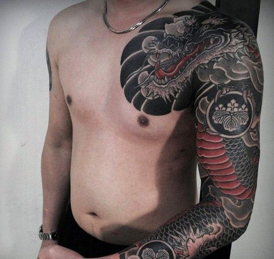 Men's Japanese Tattoo
