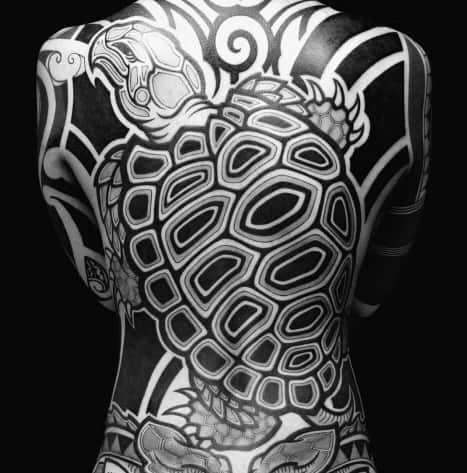 Mens Japanese Turtle Tattoo Ideas