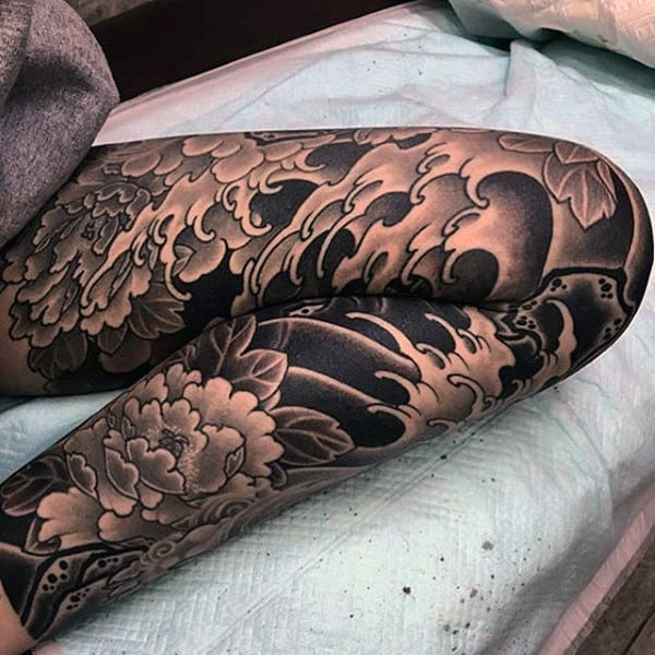 90 Knee Tattoos For Men - Cool Masculine Ink Design Ideas