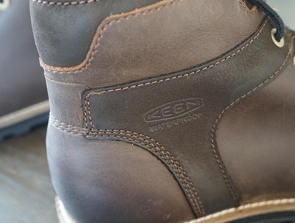 Mens Keen The Rocker Leather Embossed Detail