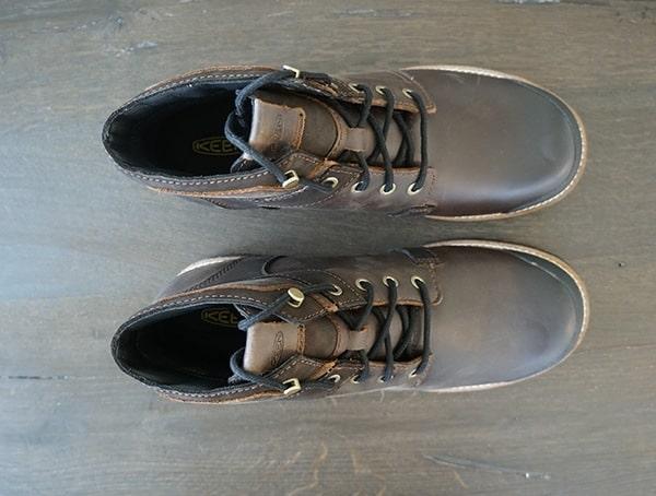Mens Keen The Rocker Waterproof Boots Top View
