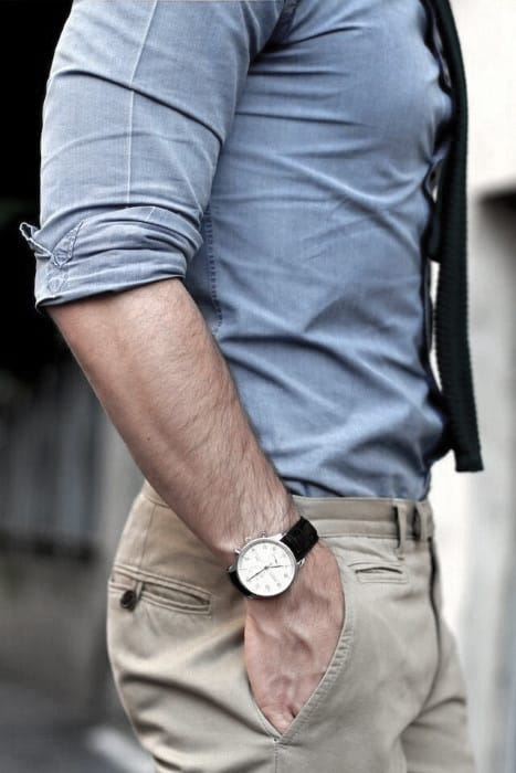 Mens Khaki Pants What To Wear With Outfits Style Looks
