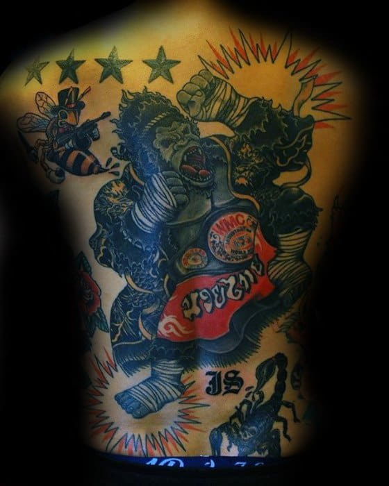 Mens King Kong Tattoo Design Inspiration