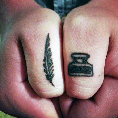 Mens Knuckle Tattoo Ideas