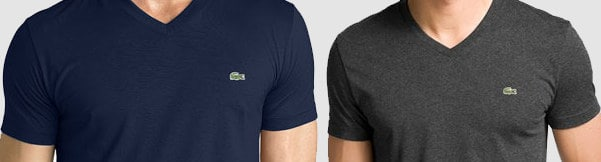 Men's Lacoste V-Neck T-Shirt