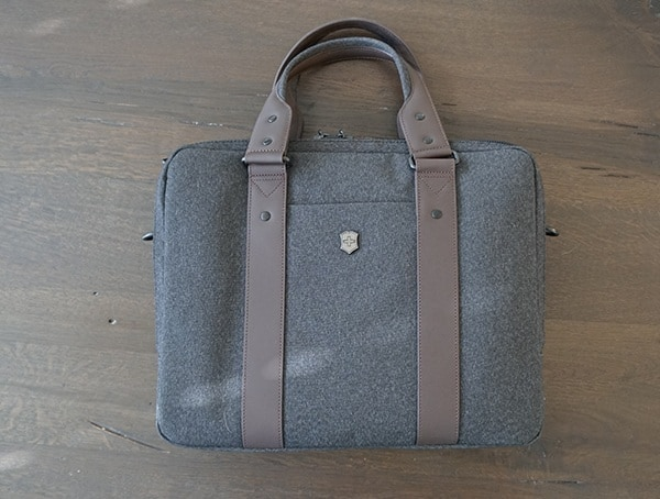 Mens Laptop Briefcase Victorinox Architecture Urban Bodmer 14 Front